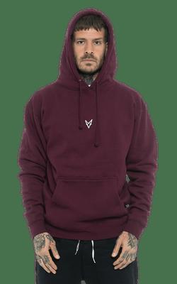 Moletom_IND4000_MV_Burgundy_Frente