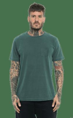 Camiseta_TinturadaBolso_Green_Frente