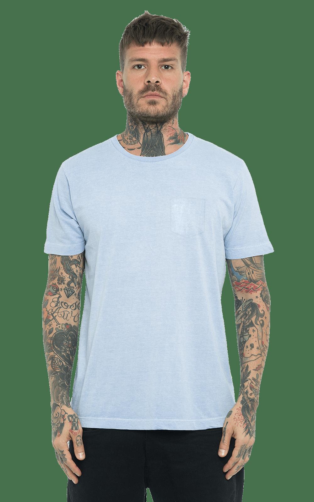 Camiseta_TinturadaBolso_SoftBlue_Frente