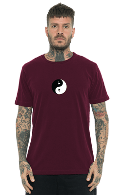 Camiseta_Tubular_HollywooDogz_Burgundy_Frente