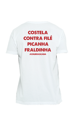 Camiseta_Churrascada_Carnes-Costela_White_Costas