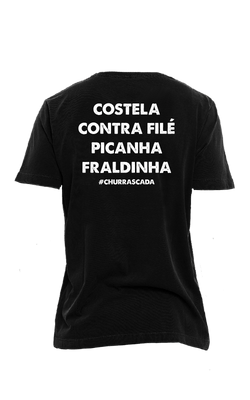 Camiseta_Churrascada_Carnes-Costela_Black_Costas