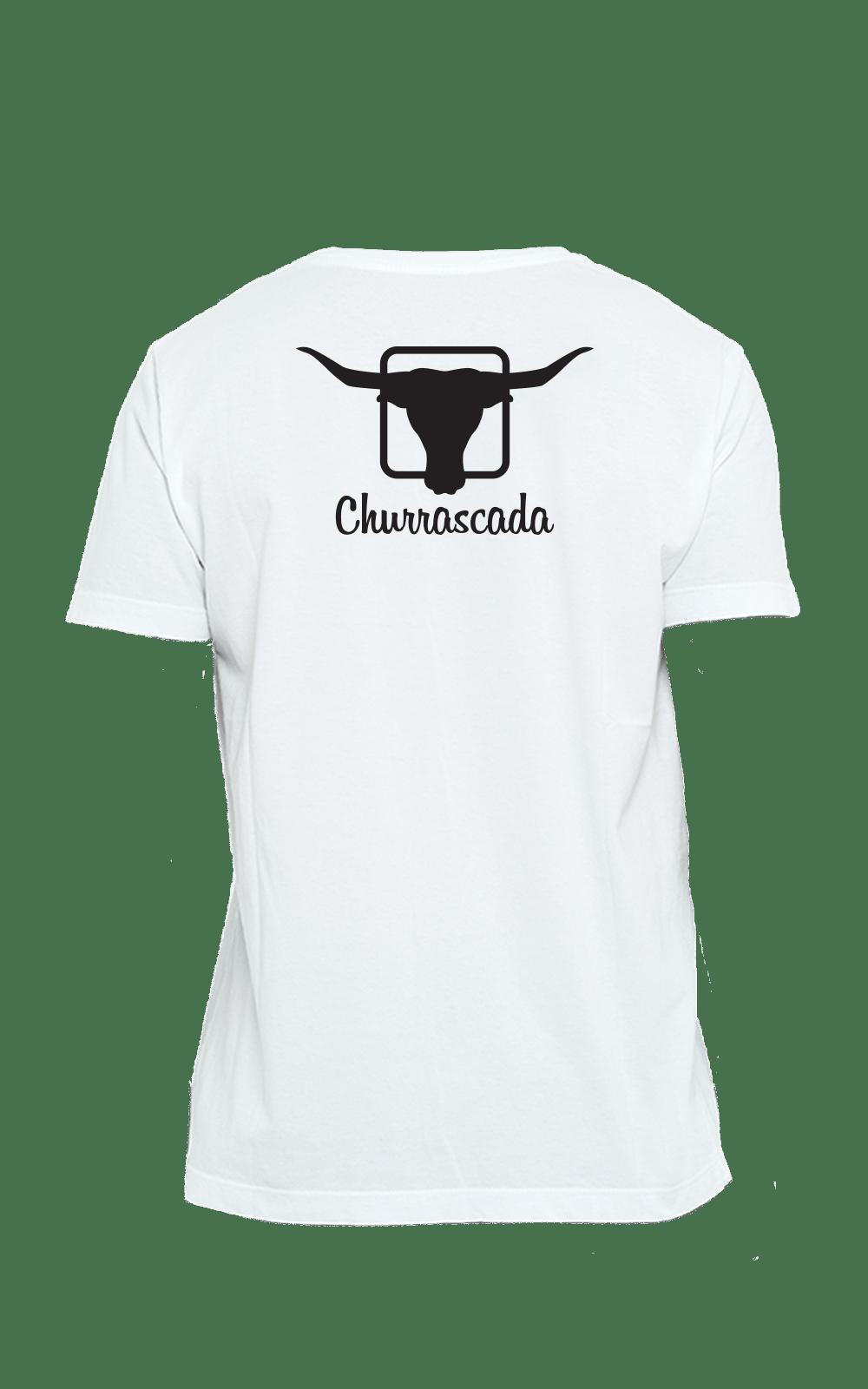 Camiseta_Churrascada_LogoBlack_White_Costas