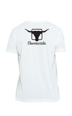 Camiseta_Churrascada_LogoBlack_White_Costas