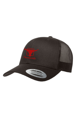 Bones_Flexfit_6606_Churrascada_LogoRed_Black_Frente