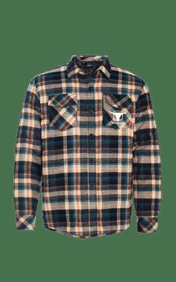 Camisa_8610_Churrascada_LogoWhite_Khaki_Frente