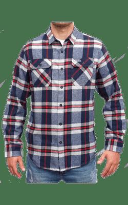 Camisa_8281_Navy-Red_BKS-PU_Frente