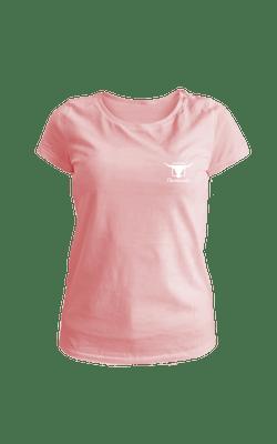 Camiseta_BabyLook_Churrascada_LogoWhite_Rose_Frente