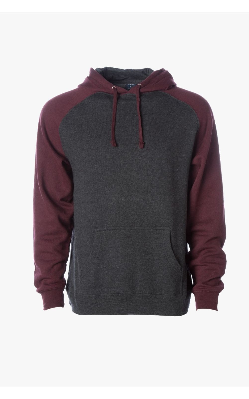 IND40RP-Charcoal-Heather-Burgundy-Heather-1